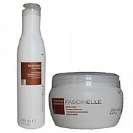 Bộ dầu gội và kem ủ xả dưỡng cho mái tóc bóng suôn mượt và quyến rũ Fascinelle ( Ý ) - DMC015 thumbnail