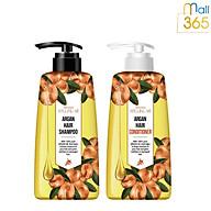 Combo Dầu Gội Và Dầu Xả Phục Hồi Tóc Hư Tổn Around Me Argan Hair Shampoo 500ML thumbnail