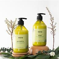Cặp dầu gội - mặt nạ tóc Bcosi phục hồi hư tổn chuyên sâu và bảo vệ da đầu 500ml thumbnail