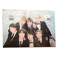 Bộ 10 bọc vở BTS (3 mẫu) thumbnail