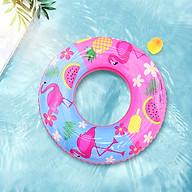 Phao Bơi Tròn Hồng Hạc Đủ Size Người Lớn và Trẻ Em - Phao bơi đi bển, hồ bơi thumbnail
