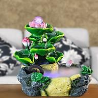 Thác Nước Phong Thủy Nụ Sen Hồng Ngọc Châu thumbnail
