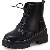 Giày Boot nữ thời trang cá tính B118 (Đen) thumbnail