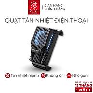 Quạt tản nhiệt điện thoại DIVI E725 LED Tản nhiệt nhanh - Hàng phân phối chính hãng - Bảo hành 12 tháng 1 đổi 1 thumbnail