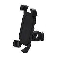 Giá đỡ điện thoại dành cho xe máy (màu đen) - Tặng kèm quạt cắm USB mini thumbnail