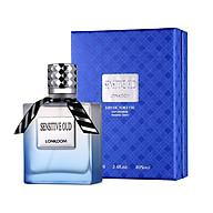 Nước Hoa LONKOOM PARFUM Sensitive OUD (Blue) perfume for men EDT Floral-Fruity Fragrance 100ml thumbnail