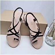 Sandal kiểu la mã quai chéo xỏ ngón thời trang đi biển thumbnail