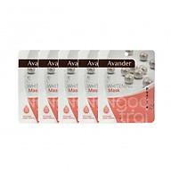 SET 5 gói mặt nạ giấy dưỡng ẩm trắng da ngọc trai Avander thumbnail