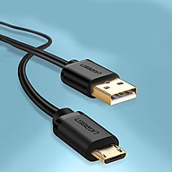 Cáp Sạc Micro USB Mạ Vàng Dài 0,5m Chính Hãng Ugreen 10835 - Hàng Chính Hãng thumbnail