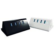 Bộ hub chia 4 cổng USB3.0 kiêm giá đỡ điện thoại SHC-U3 thumbnail