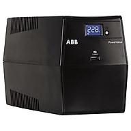 Bộ lưu điện UPS ABB POWERVALUE 11LI UP 800VA - Hàng chính hãng thumbnail