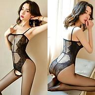 Đồ Ngủ Lưới Vải Mịn Xuyên Thấu Khoét Đáy Sexy Bodystocking Erotic Lingerie Nightwear Brave Man BCS21 30 8076 thumbnail