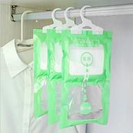 Set 3 Túi hút ẩm tủ quần áo và phòng kín có móc treo thumbnail