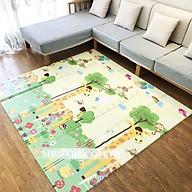 Thảm xốp gấp gọn xpe 2 mặt cho bé tập bò chống ngã chống thấm, Chiếu Ngủ Văn Phòng thumbnail