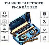 Tai nghe bluetooth không dây Magiclight F9-10 bản nâng cấp 2021 Nút chạm cảm ứng dừng bật nhạc, chuyển bài Hàng nhập khẩu thumbnail