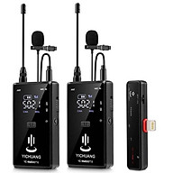 Micro thu âm không dây cho iPhone 2 người YC-WM500A2z hàng chính hãng thumbnail
