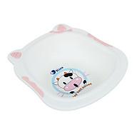 Chậu rửa mặt hình con bò sữa viền hồng - màu bé gái thumbnail