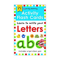 Activity Flash Cards Letters - Activity Flash Cards (Paperback) thumbnail