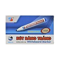 Hộp 10 cây bút lông bảng Thiên Long - WB03 xanh thumbnail