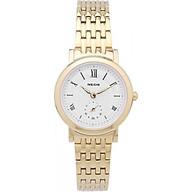 Đồng hồ NEOS N-40675L nữ dây thép vàng thumbnail