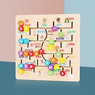 Đồ Chơi Gỗ Bảng Chữ Số Tiếng Anh, Đồ Chơi Giúp Bé Phát Triển Trí Não Giáo Dục Theo Phương Pháp Montessori - Tặng Kèm 01 Tranh Ghép Bằng Gỗ - Bảng Số thumbnail