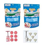 Combo đồ chơi 2 túi cát tạo hình siêu nhẹ Air motion kèm 2 bộ khuôn làm bánh thumbnail