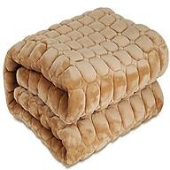 Thảm nhung trải giường mùa đông 1m8 x2m (Ngẫu nhiên) thumbnail