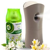 Bộ phun tinh dầu tự động Air Wick Freesia & Jasmine 250ml QT000731 - hương hoa nhài thumbnail