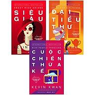 Combo Bí Mật Giới Siêu Giàu ( Giới Siêu Giàu Châu Á 1 Siêu Giàu + Giới Siêu Giàu Châu Á 2 Đại Tiểu Thư + Giới Siêu Giàu Châu Á 3 Cuộc Chiến Thừa Kế) tặng kèm bookmark Sáng Tạo thumbnail