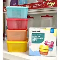 Bộ Hộp Trữ Đông Freezermate Rainbow Tupperware, Hộp Bảo Quản Thực Phẩm, Nhựa Nguyên Sinh An Toàn thumbnail