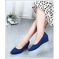 Giày nhựa đi mưa giày búp bê nữ cao cấp nhẹ êm chân V196 thumbnail