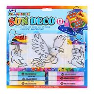 Bộ Bút Vẽ Trang Trí Amos Glass Deco Sun Deco III SD10B6-D2 (400g) thumbnail