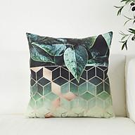 Vỏ Gối Tựa Lưng Sofa Trang Trí Kim Cương Velvet thumbnail