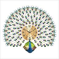 Đồng Hồ Treo Tường Hình Chim Công MAC1838 thumbnail