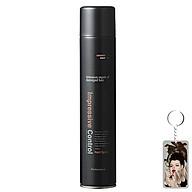 Gôm xịt tóc tạo kiểu siêu cứng, giữ nếp lâu Mugens Hair Spray Hàn Quốc 300ml + Móc khóa thumbnail