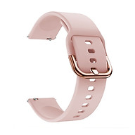Replaceable Silicone Watch Strap 22mm Buckle Watch Strap Watch Band Compatible with Samsung Galaxy Watch Active2 Grey thumbnail