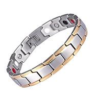 Therapy Bracelet Magnetic Beaded Bracelet Simple Biomagnetic Arthritis Relieve Stress thumbnail