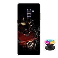 Ốp lưng nhựa dẻo dành cho Samsung A8 Plus 2018 in hình Người Sắt - Tặng Popsocket in logo iCase - Hàng Chính Hãng thumbnail