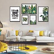 Tranh treo tường, tranh canvas TB15 bộ 5 tấm thumbnail