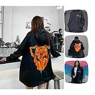 Áo Khoác Dù Chống Nắng nam nữ và cặp đôi HADES In hình sói , Unisex Form Rộng Jacket Ulzzang thumbnail