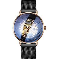 Đồng hồ tự động automatic lộ máy Sollen 307 dành cho nam - Hàng chính hãng thumbnail