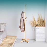 Cây treo quần áo bằng gỗ tự nhiên thumbnail