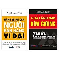 COMBO 2 cuốn sách Hành Trình Của Người Bán Hàng Vĩ Đại + Nhà Lãnh Đạo Kim Cương thumbnail