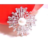 Cài Áo Hoa Mặt Trời Đính Ngọc Trai Crystal PNQ CA20181000001 thumbnail