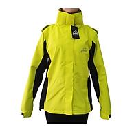 Áo khoác gió nữ 2 lớp Gothiar 2L jacket - Vàng 9107 thumbnail
