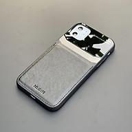 Ốp lưng da kính cao cấp dành cho iPhone 11 - Màu đen - Hàng nhập khẩu - DELICATE thumbnail
