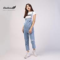Yếm jean dài Chollima rách có nắp YJ006 yếm bò ulzzang phong cách hàn quốc thumbnail