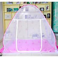 Màn chụp tự bung không đáy chống muỗi cao cấp 1m6x2m (hàng việt nam) - Giao màu ngẫu nhiên thumbnail