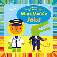 Sách Usborne Baby s very first Mix & Match Playbook Jobs thumbnail