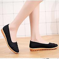 Giày mọi nữ đế bằng 2cm đi bộ cực êm chân 189 thumbnail